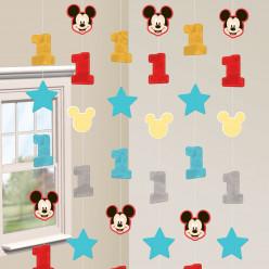 Decoração Suspensa Mickey 1ºAniversário