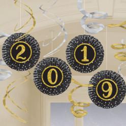 Decorações Espirais Ano Novo 2019