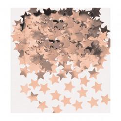 Emb Confettis Metálicos Estrelas Rosa Gold