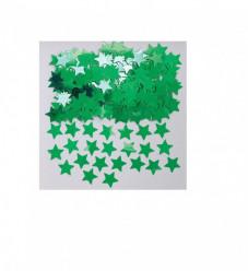 Emb Confettis Metálicos Estrelas Verdes