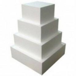 Esferovite Quadrado 25x25cm - 10cm altura