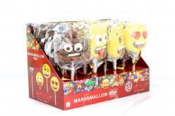 Espetada Marshmallow Emojis Sortido