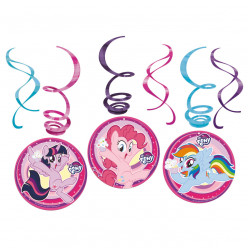Espirais decorativas My Little Pony 6 uni