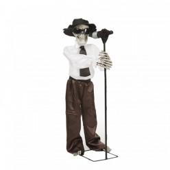 Esqueleto Blues c/ Movimento e Som halloween