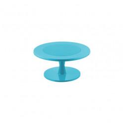 Expositor/ Prato Giratório Azul 30cm (M)