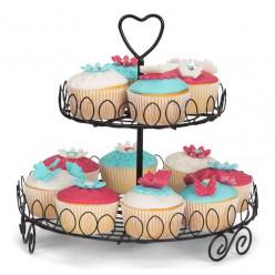 Expositor Preto para Cupcakes
