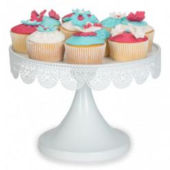 Expositor Rendado Branco bolos