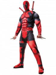 Fato Adulto Deadpool musculoso