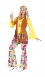 Fato Adulto Mulher Hippie