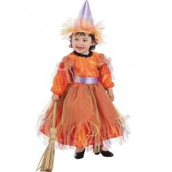 Fato Bruxinha bebé halloween