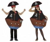 Fato Carnaval Barco Pirata
