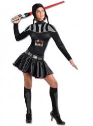 Fato Carnaval Darth Vader Mulher Star Wars