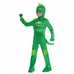 Fato carnaval Gekko PJ Masks Deluxe 7 a 8 anos