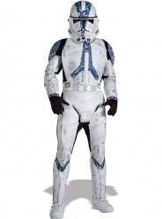 Fato Clone Trooper Legião 501 Star Wars deluxe