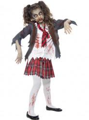 Fato  da Zombie Estudante halloween