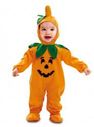 Fato de abóbora adorável para bebé halloween