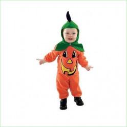 Fato de abóbora bebé halloween