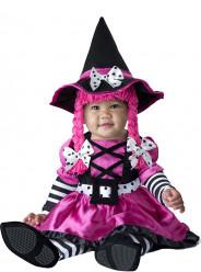 Fato de bruxa lacinhos para bebé