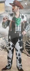 Fato de cowboy adulto