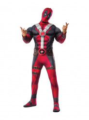 Fato de Deadpool Musculoso Adulto