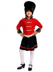 Fato de Guarda Real inglês - menina