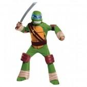 Fato de Leonardo Tartarugas Ninja