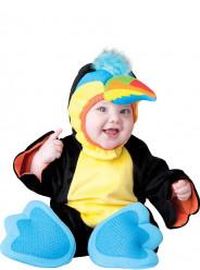 Fato de luxo Tucano colorido para bebé