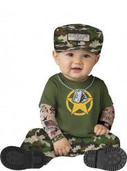 Fato de militar para bebé