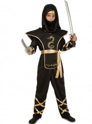 Fato de ninja astuto