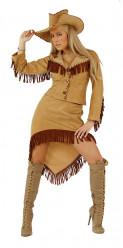 Fato de vaqueira cowgirl Adulto