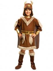 Fato de Viking valente para menina