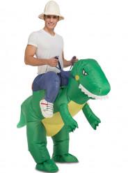 Fato Dinossauro Domado Adulto