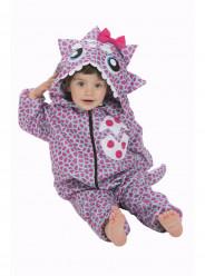 Fato Dinossauro Pink para Bebé