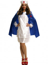 Fato Enfermeira Vintage Mulher Adulto