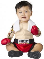 Fato Homem Forte de Boxe  para bebé