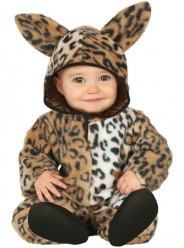 Fato Leopardo Adorável para Bebé