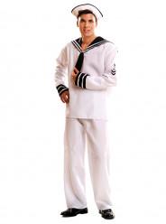 Fato Marinheiro Branco Adulto