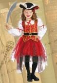 Fato pirata Princesa dos Mares