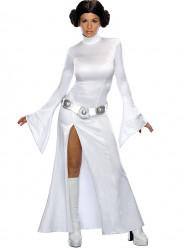 Fato Princesa Leia Branca Adulto