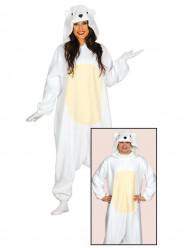 Fato Urso Polar Adulto
