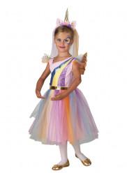Fato Vestido Unicórnio Menina