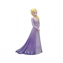 Figura Elsa com Vestido Roxo Frozen 2 - 11 cm