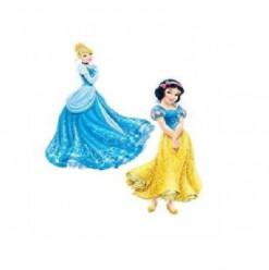 Figuras Cartão Disney Princesas 2 unid