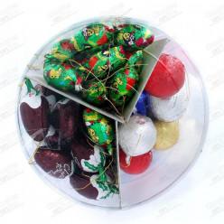 Fíguras Chocolate Árvore Natal 87 peças