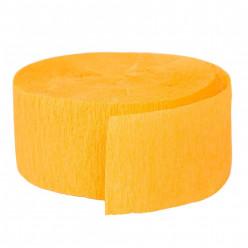 Fita Papel Crepe Amarelo 24,6m
