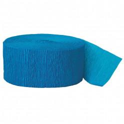 Fita Papel Crepe Azul Claro 24,6m