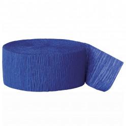 Fita Papel Crepe Azul Escuro 24,6m