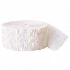 Fita Papel Crepe Branco 24,6m
