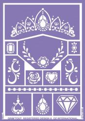 Folha de Stencil - Princess