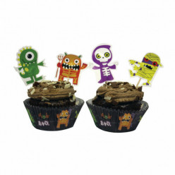Forma Cupcake + Toppers Boo Crew Halloween